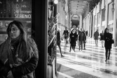 Piazza Duomo, febbraio 2020